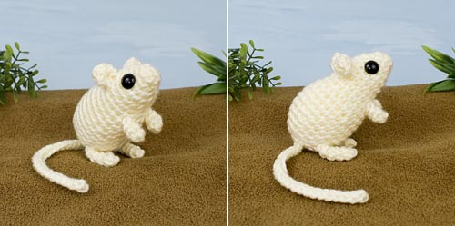 Mini Mammals 2 crochet expansion pack by PlanetJune - Gerbil