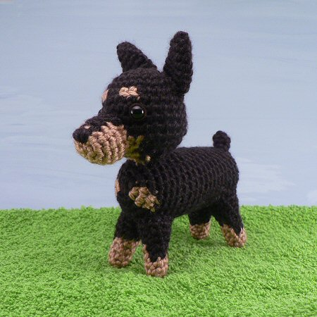 amidogs miniature pinscher pattern by planetjune