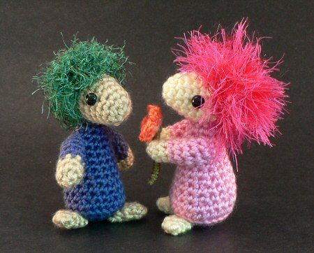 Mop Top Mascots crochet pattern by planetjune