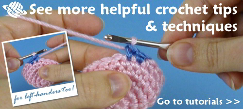 Ultimate Guide to Left-Handed Crochet | Yarnspirations | 225x500
