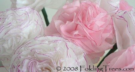 paper carnations by planetjune
