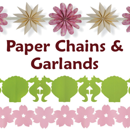 Paper Chains and Garlands, papercraft ebook by June Gilbank