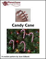 candy cane crochet pattern