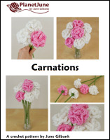 tissue paper carnations tutorial