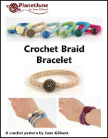 crochet braid bracelet crochet pattern