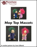 mop top mascots crochet pattern