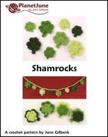 shamrocks crochet pattern