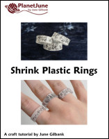 shrink plastic rings tutorial