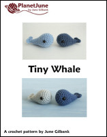 tiny whale crochet pattern
