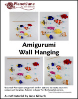 amigurumi wall hanging tutorial