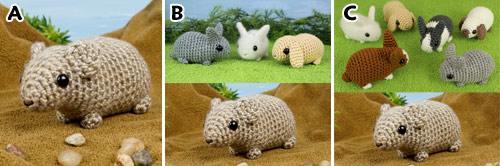 Pika crochet pattern (Baby Bunnies Expansion Pack) by PlanetJune - purchase options