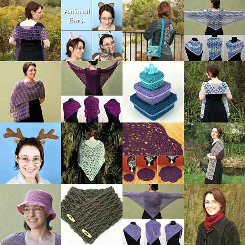 PlanetJune Accessories crochet patterns: 2010-2016 designs