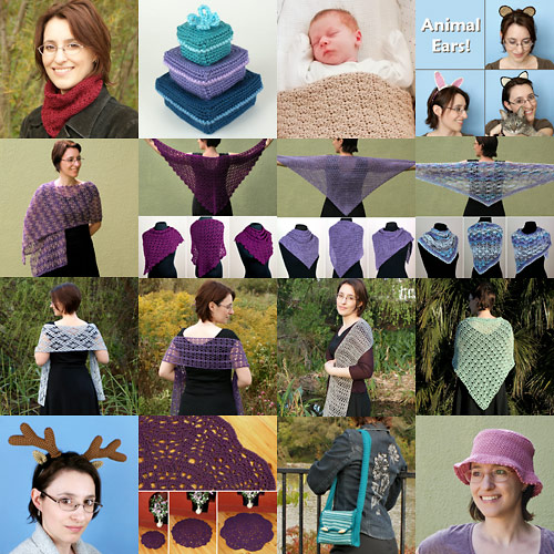 PlanetJune Accessories crochet patterns