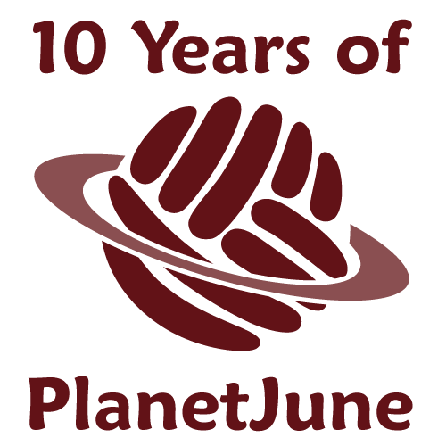 10 years of PlanetJune