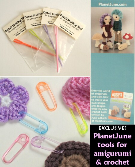 PlanetJune exclusive tools for amigurumi and crochet