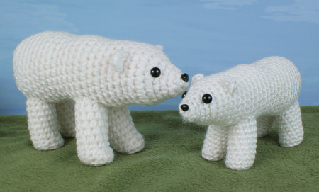polar bear crochet pattern by planetjune