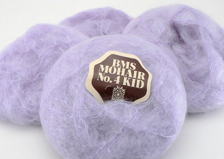 purple kid mohair yarn