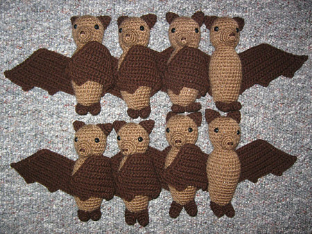 Amigurumi Vampire Bat Paid Pattern-Amigurumi Crochet Bat Patterns ... | 338x450