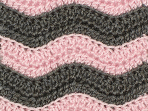 Blog Planetjune By June Gilbank Ribbed Ripple Crochet Pattern