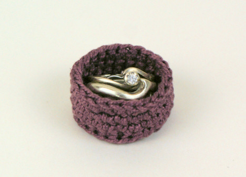 ring box based on Handy Baskets by June Gilbank