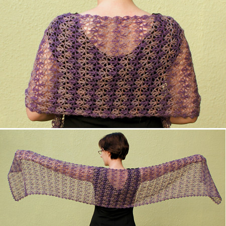 Blog Planetjune By June Gilbank Rippled Lace Rectangular Shawl