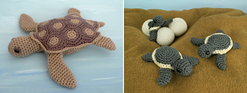 PlanetJune Sea Turtle crochet patterns