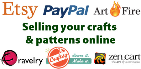 selling your crafts and patterns online