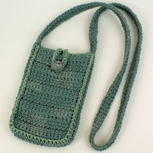 shoulder strap purse based on Solid Stripes Bag by June Gilbank