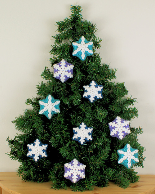 Blog Planetjune By June Gilbank Snow Star Ornaments Crochet Pattern
