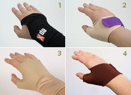 various support gloves for hand pain
