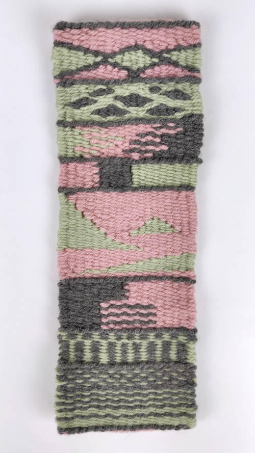 tapestry weaving sampler