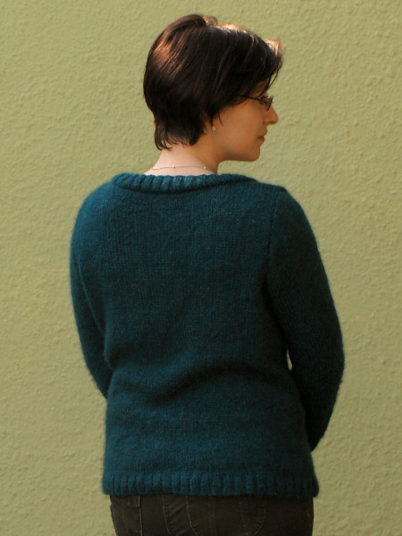 alpaca knit sweater by planetjune