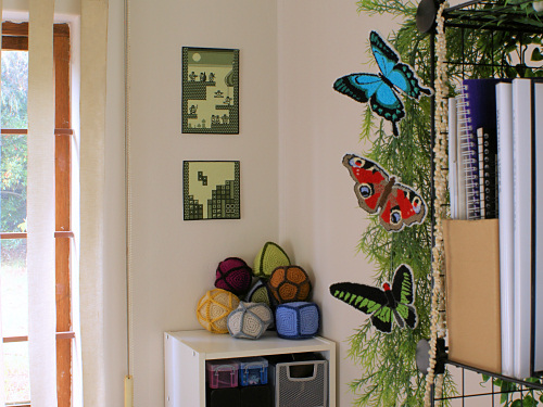 tetris cross stitch embroideries