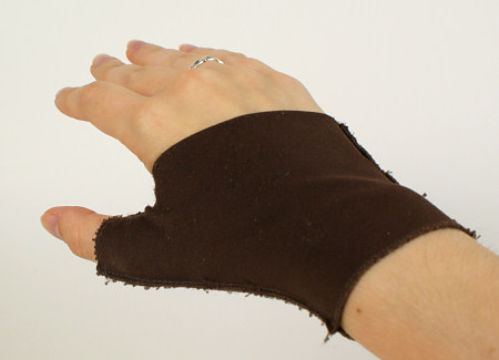 thumb-support glove for basal joint pain