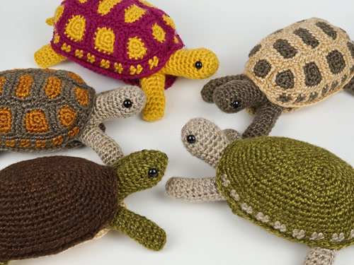Tortoise crochet pattern and Simple-Shell Tortoise, Turtle & Terrapin expansion pack by PlanetJune