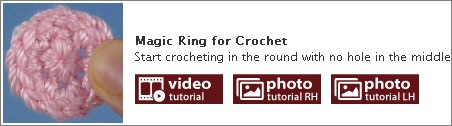 crochet tutorials master list by planetjune