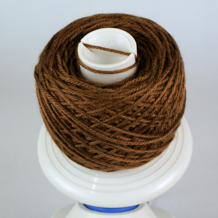 yarn wound on a ball winder by planetjune