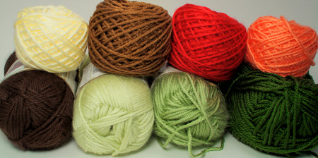 yarns for my next pattern