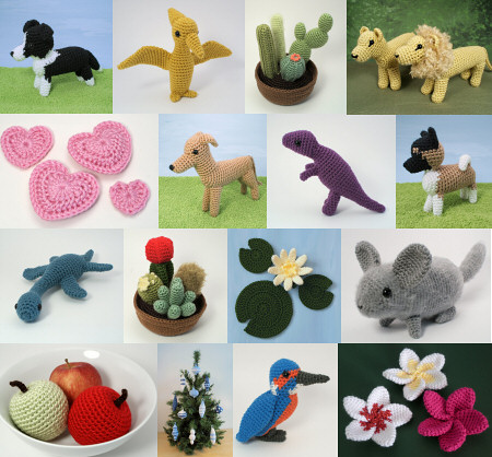 PlanetJune year 5 amigurumi patterns