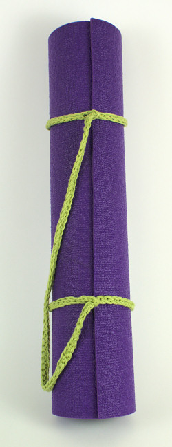 crocheted yoga mat strap