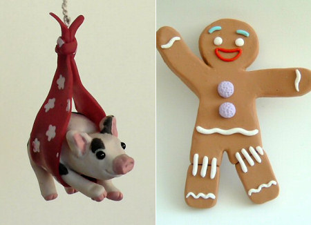 polymer clay sculptures by June Gilbank