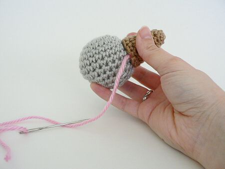 how to join amigurumi