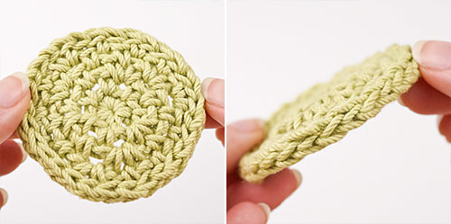 Eco-Friendly Cosmetic Rounds crochet pattern by PlanetJune - step 4