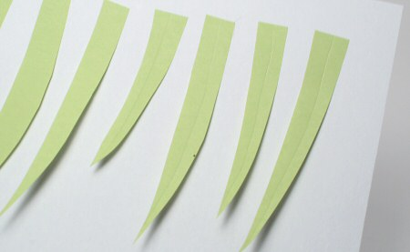 grass sticky page markers by planetjune