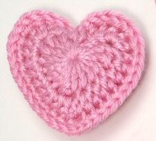 Amigurumi Love Heart Free Crochet Pattern | 204x225