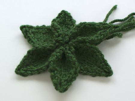 Blog Planetjune By June Gilbank Knitted Poinsettia Pattern