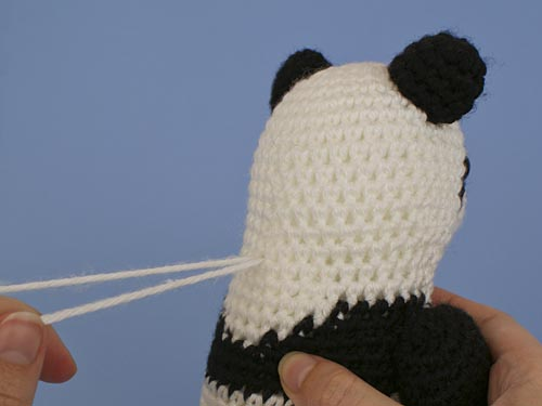 needlesculpting in amigurumi - tutorial