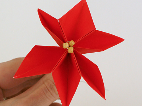 Blog Planetjune By June Gilbank Origami Poinsettia Tutorial