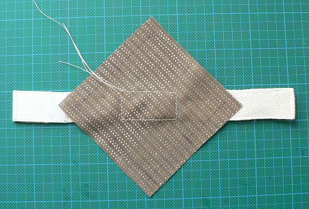 sew strap to fabric