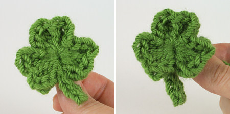 shamrocks crochet pattern by planetjune